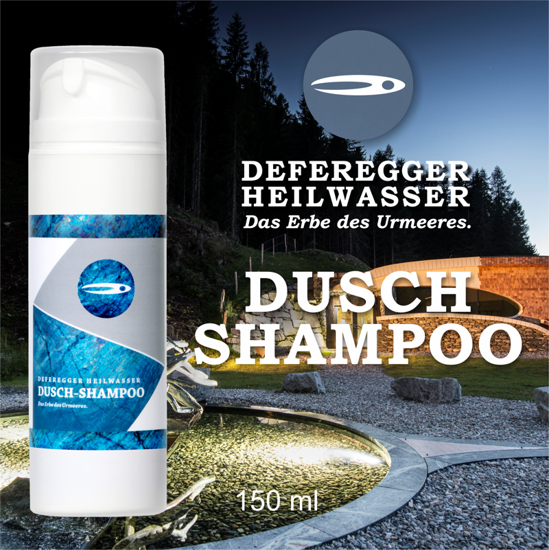 Defereggen healing water Shower Shampoo (150 ml)