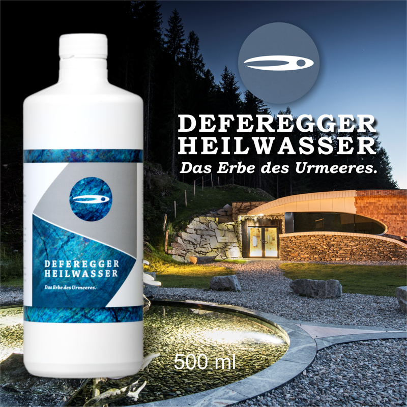 Defereggen healing water 500 ml