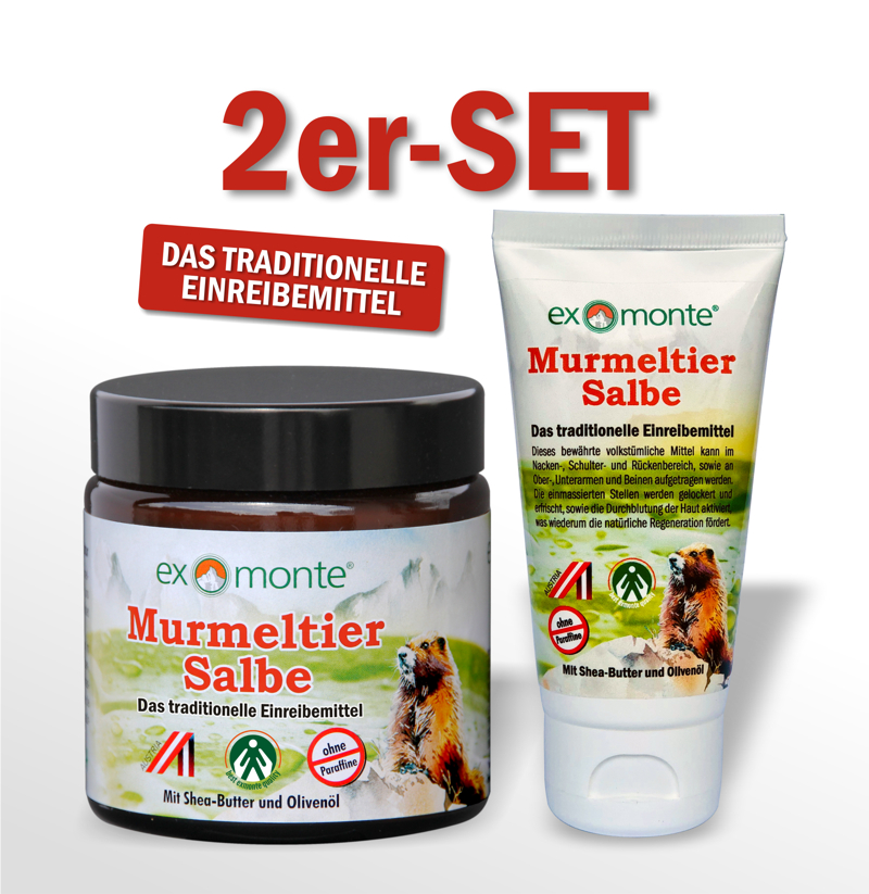 Marmot Ointment-Set of 2
